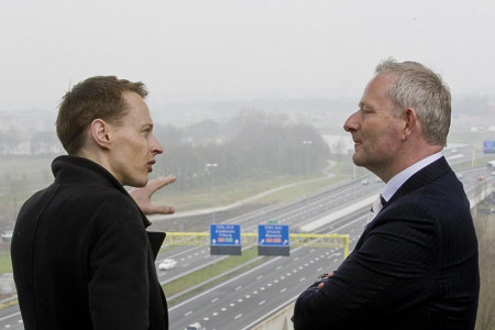 01-Daan Roosegaarde and director of Heijimans